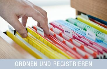 Ordnen & Registrieren